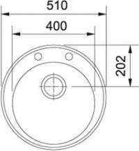 FRANKE ROG 610 (114.0261.616)