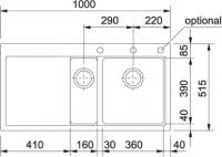 FRANKE MTG 651-100 (114.0277.701)